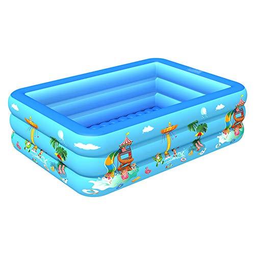 Great Deal! qiguch66 Baby Inflatable Bathtub,Portable Non Slip Travel Bathtub Mini Air Kids Thick Fo...