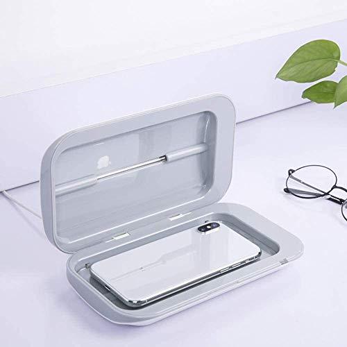 NMVB Tragbare UV-Handy Sanitizer mit USB-Ladegerät - Multi-Use-UV-Licht Desinfektion for Smartphones unter 6in, for Masken Uhren Schmuck, abgetötete Bakterien 99,9%