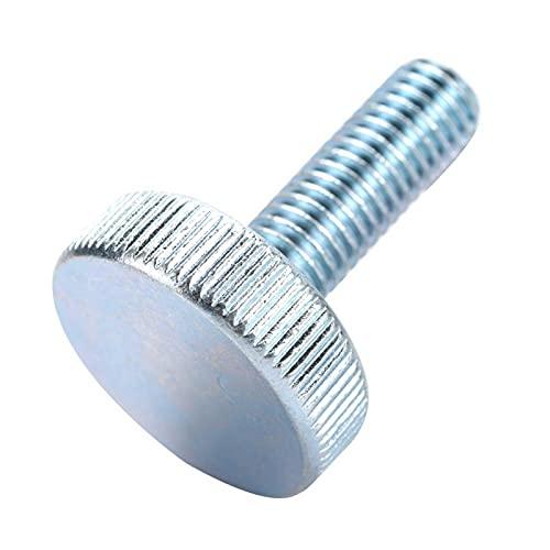 Tornillo de mariposa M10, tornillo de cabeza moleteada, 10 piezas/juego de tornillo de(M10*25 (10pcs))