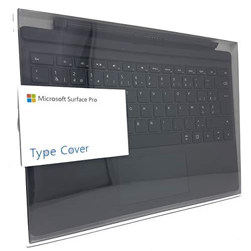 Microsoft QC7-00028 AZERTY Belgian Type Cover Keyboard for Surface Pro 3, Surface Pro 4 and Surface Pro (2015) - Black