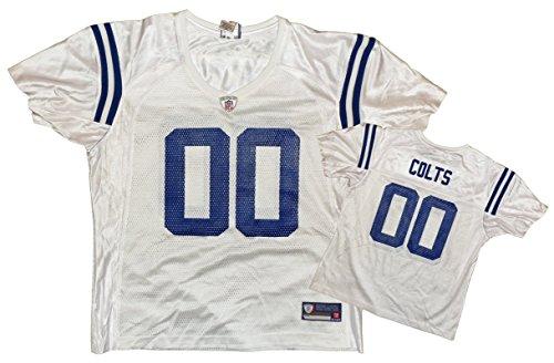 Reebok Indianapolis Colts NFL–Réplica de la Camiseta de Equipo, Hombre, Color Blanco, tamaño Large