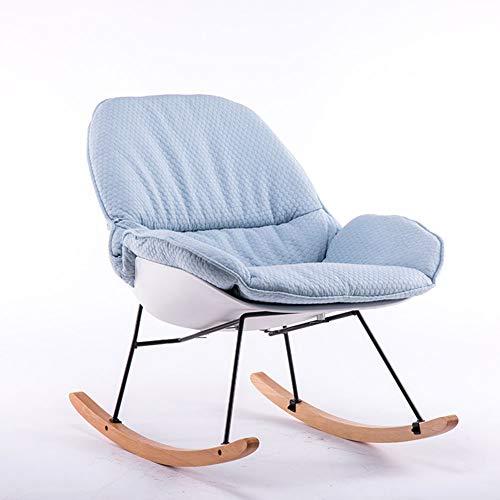 FEE-ZC schommelstoel klapstoel volwassen dagbed balkon rieten lounge balkon enkele rieten stoel moderne en eenvoudige lounge stoel vouwen stoel comfortabele kinderstoel
