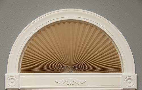 Redi Shade 3606578 Original Arch Light Filtering Fabric Shade, 72 in x 36 in, Narural