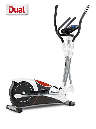 Bh Fitness Athlon Dual G2336U–Bicicletta ellittica–Sistema Lama 10kg–programmi–Dual Kit Opzionale per Allenamento con Famose