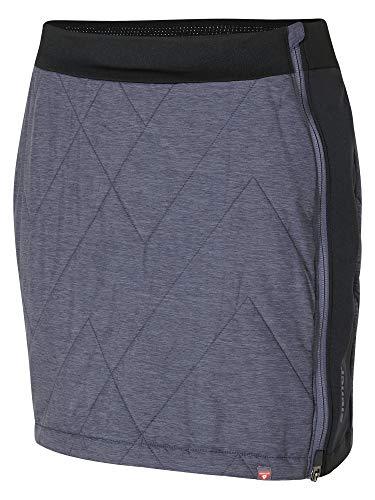Ziener Damen NIMA Lady (Skirt Active), Grey Night Melange, 36 (S)