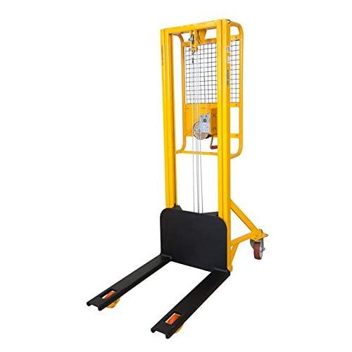 Sollevatore 200 Kg. ad arganello sollevamento 2,5 metri