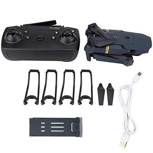 Drone FPV, 2.4G 4CH WiFi Pieghevole 2.0MP 720P Videocamera HD grandangolare RC Quadcopter Altitude Hold Drone Elicottero con 3 velocità Volo e Ritorno con Una Chiave per Bambini Adulti (1 Batteria)