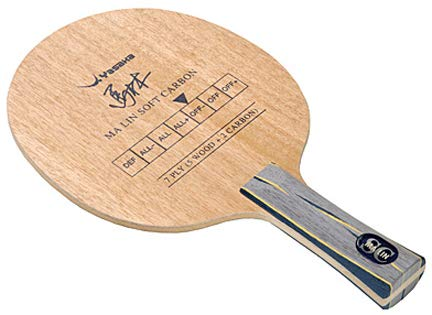 Yasaka Ma Lin Soft Carbon Table Tennis Blade (FL)