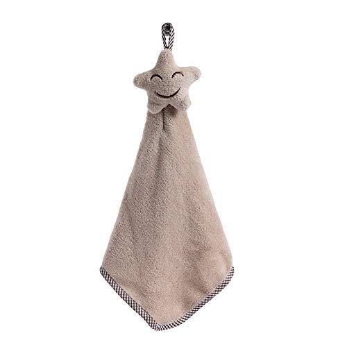 Weiche SmilingHanging Handtücher Küchentuch Coral Velvet Absorbent fusselfreies Tuch Dishcloths leicht zu reinigen