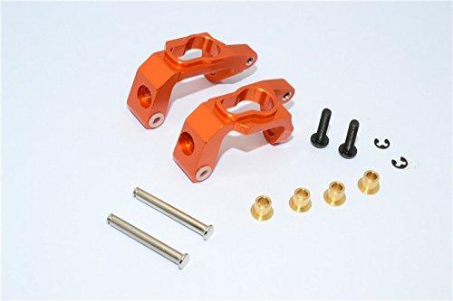 GPM HPI Bullet 3.0 Nitro & Bullet Flux Tuning Teile Aluminium C-Hub - 1Pr Set Orange