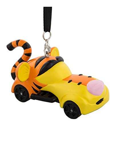 Disney Parks Tigger Racers Resin Christmas Ornament New with Tags