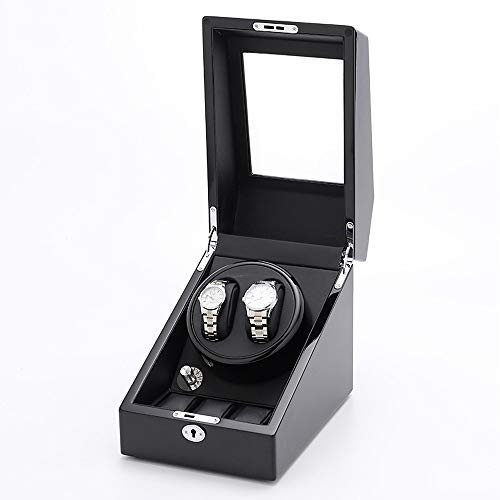 QuRRong Watch Winder Modi di Rotazione Watch Winder 5 con 2 posti tortuose e 3 Serbatoi (Color : A2, Size : One Size)