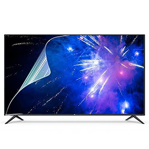 WSHA Película Protectora de Pantalla de TV antideslumbrante/antirreflectante/antiazul/Mate antiarañazos, bloquea los Rayos Azules dañinos y Protege Tus Ojos,55 Inches(1211x682mm)