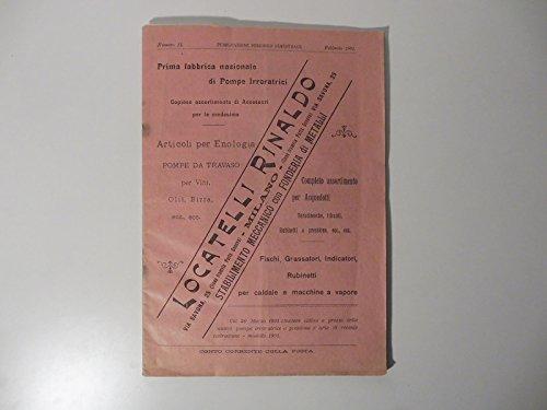 Prima fabbrica nazionale di pompe irroratrici. Articoli per enologia, pompe da travaso per vini, olii, birra