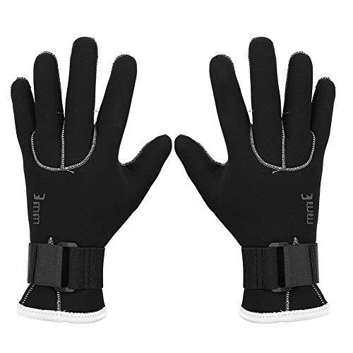 VGEBY1 Tauchhandschuhe, 5 Finger Warme Schwimmhandschuhe Tauchzubehör für Schnorcheln Kajakfahren Tauchen Surfen(XL)