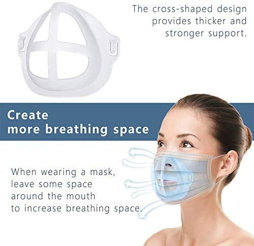 3D Bracket 3PCS Lipstick Protection Cool Mask Bracket for Summer Internal Support Increasing Breath Space Bracket Support Frame