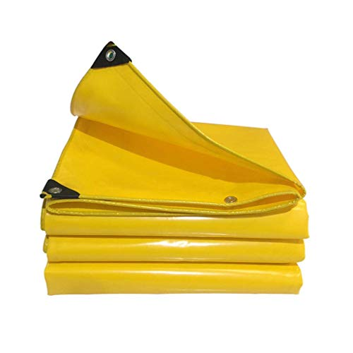 BJYG Telone telone Tela Impermeabile Rinforzata Tela Impermeabile Ombrellone Tela Impermeabile Tela PVC Tela Giardino Auto Campeggio Plastica Tela Protezione 600 g/ø O (Dimensioni: 3 * 4 m)