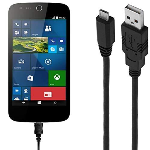 ASSMANN Ladekabel/Datenkabel kompatibel für Acer Liquid M320 - schwarz - 1m