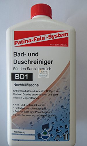 Patina Fala® - Bad und Duschreiniger 1l - BD1