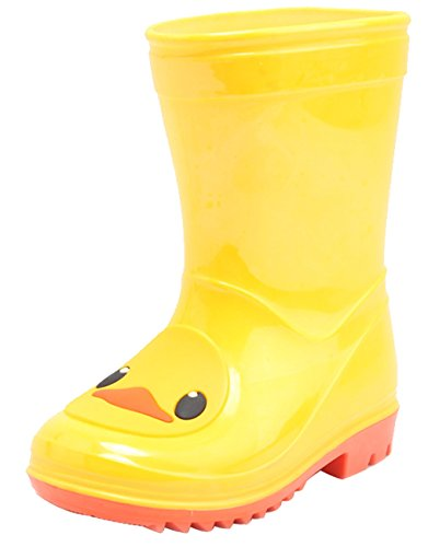 Stride Rite 360 Boy's Bellamy Boot Snow, Yellow, 6 Little Kid