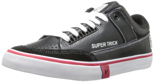 Vision Street Wear Men's Super Trick LO-M, Black/White, 7.5 M US