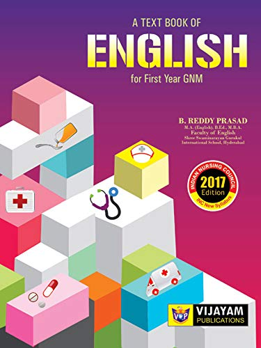 A Text Book of English For First Year GNM