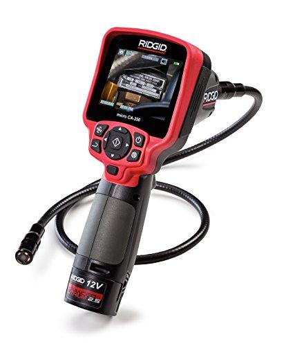 RIDGID 55903 micro CA-350 Videocamera di ispezione portatile, boroscopio