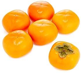 国内産 種なし柿 6個