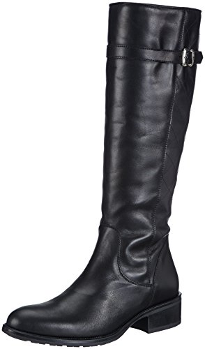 Diavolezza IRMA, Damen Langschaft Stiefel - Schwarz (Black), 43 EU (13 Damen UK)