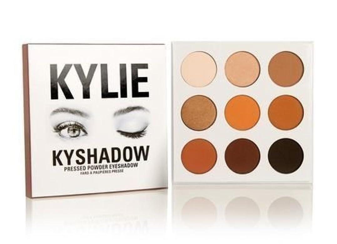 明るくするフラグラント和Kylie Cosmetics(カイリーコスメティック)The Bronze Palette KYSHADOW 9色アイシャドウパレット 国内発送