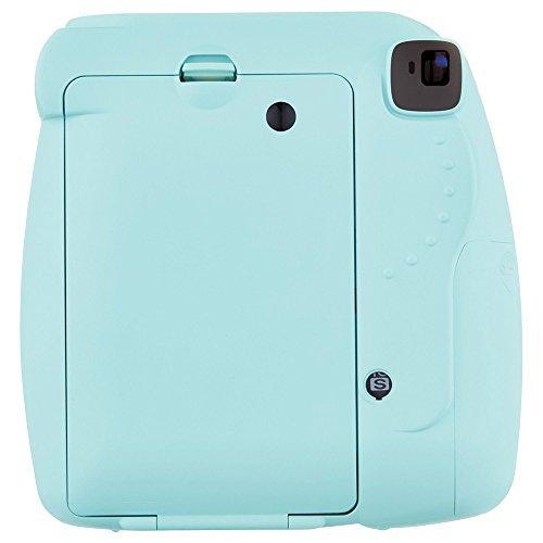 Fujifilm Instax Mini 9 Instant Camera - Ice Blue (16550643) w/ Fujifilm INSTAX MINI 40 Sheets of Instant Film
