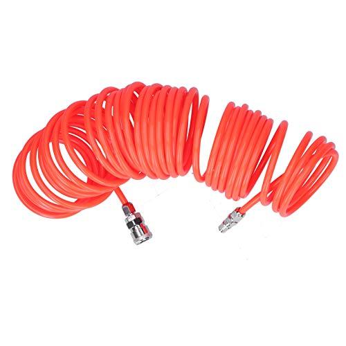 Beständig gegen Hochdruck, Luftkompressorrohr Belüftung Auspuffrohr weich für Druckluftwerkzeuge, für Gasleitungen für Hausaufgaben für Druckluft,(9 meters)