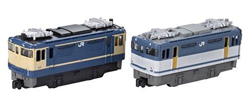 Bトレインショーティー EF65形2000番台 特急色/貨物更新色 (機関車2両入り) プラモデル