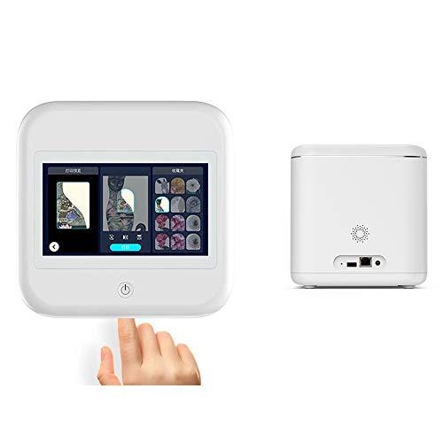 ZXCASD Portátil 3D Digital Uña Impresora, Nail Portátil Pintura Máquina Inteligente Móvil Auto Rápido con Toque Pantalla Apoyo WiFi, DIY, USB