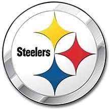 NFL Pittsburgh Steelers Die Cut Color Automobile Emblem