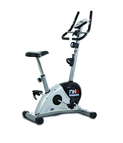 BH Fitness NHB H267N cyclette da camera con freno magnetico regolabile manualmente in 8 livelli