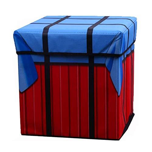 LCSJ Multi-funktionale Lagerung Hocker Faltbare Aufbewahrungsbox PUBG Spiel Airdrop Tasche Design können alle Arten von Kleidung Schuhe Zubehör