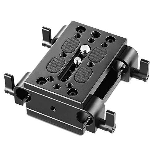 SMALLRIG Stativ Montage Grundplatte Baseplate Rig mit 15mm Rod Clamp - 1798