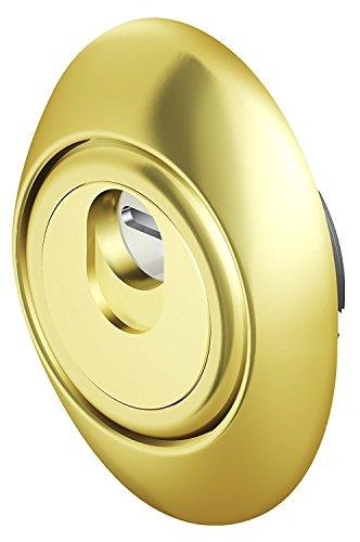 Defender magnético mag3g–de oro brillante–interasse agujeros 31mm para cerraduras Atra o dierre