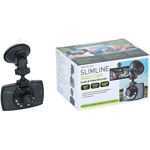 Dashcam Full HD Slimline Audio & Videorecorder für Auto