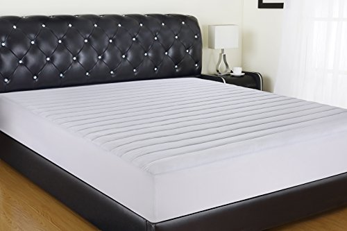 Allrange Waterproof Quilted Fitted Mattress Pad, Clean&Safe, Stretch-up-to 16, Moisture Management, Snug Fit, Mattress Protector, Full