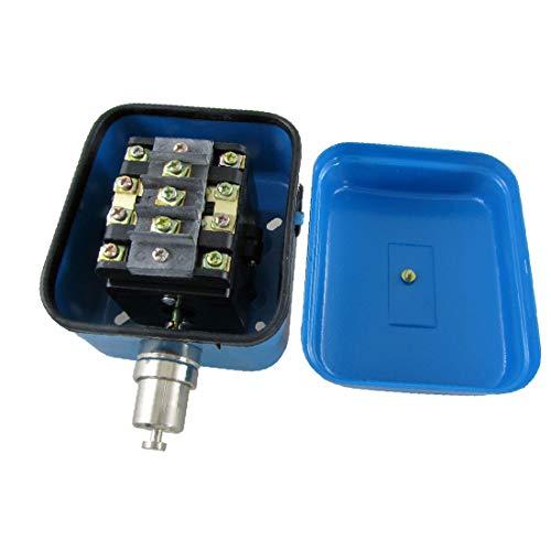 X-DREE Interruptor de límite de tipo de empuje momentáneo de grúa 4NC 4PST 1.6A / 380VAC 2.8A / 220VAC LX44-20 (7c78b0fa184ca436e4e8d4b8b92c655a)