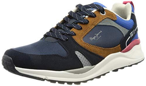 Pepe Jeans Herren Trail Light Sport Sneaker, 595NAVY,44 EU