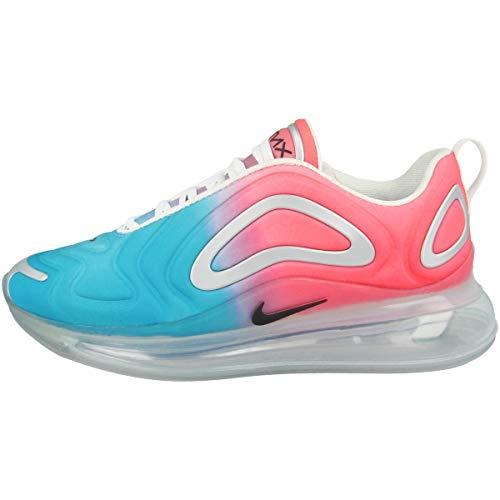 Nike Air Max 720 Womens Running Trainers AR9293 Sneakers Shoes (UK 5 US 7.5 EU 38.5, Lava Glow Black Blue Fury 600)