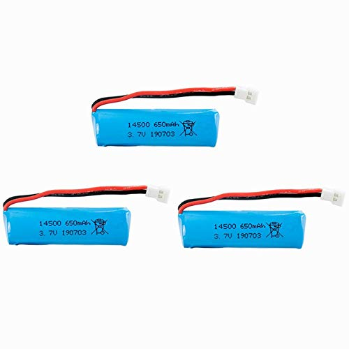 ZZBAT 3.7V 650mah 14500 Battery Charger Sets for TKKJ H116 Remote Control Boats Helicopter Battery for RC Toys Cars Tank Trains Guns-3 Battery