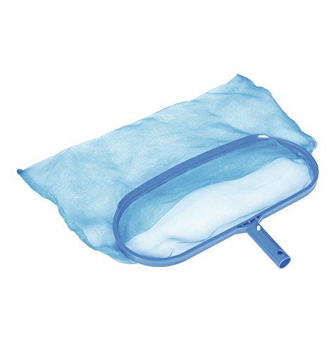 épuisette de fond pour piscine bleu