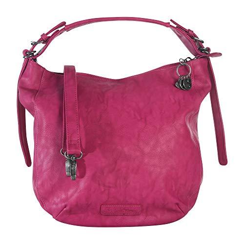 Fritzi aus Preussen Damen Lara Schultertasche Pink (Fuchsia)