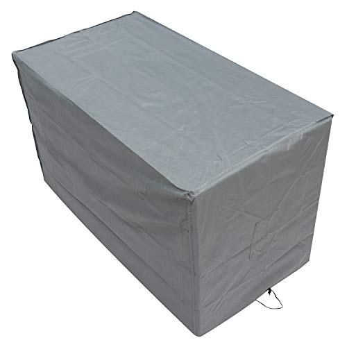 Oxbridge Grey Small Bistro Outdoor Garden Patio Furniture Set Cover 1.52m x 0.82m x 0.92m/5ft x 2.7ft x 3ft 5 YEAR GUARANTEE