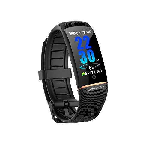 SmartWatch aptitud Muñequera rastreador táctil completa aptitud del reloj impermeable con monitores del ritmo cardíaco podómetro hombres las mujeres del reloj del reloj los deportes para iOS Android