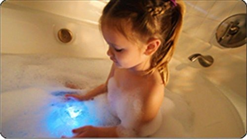 Vktech Geschenk Idee Bunte Badezimmer LED Spielzeug Kinder Lustige Badewannenspielzeug Wasserdicht in der Wanne